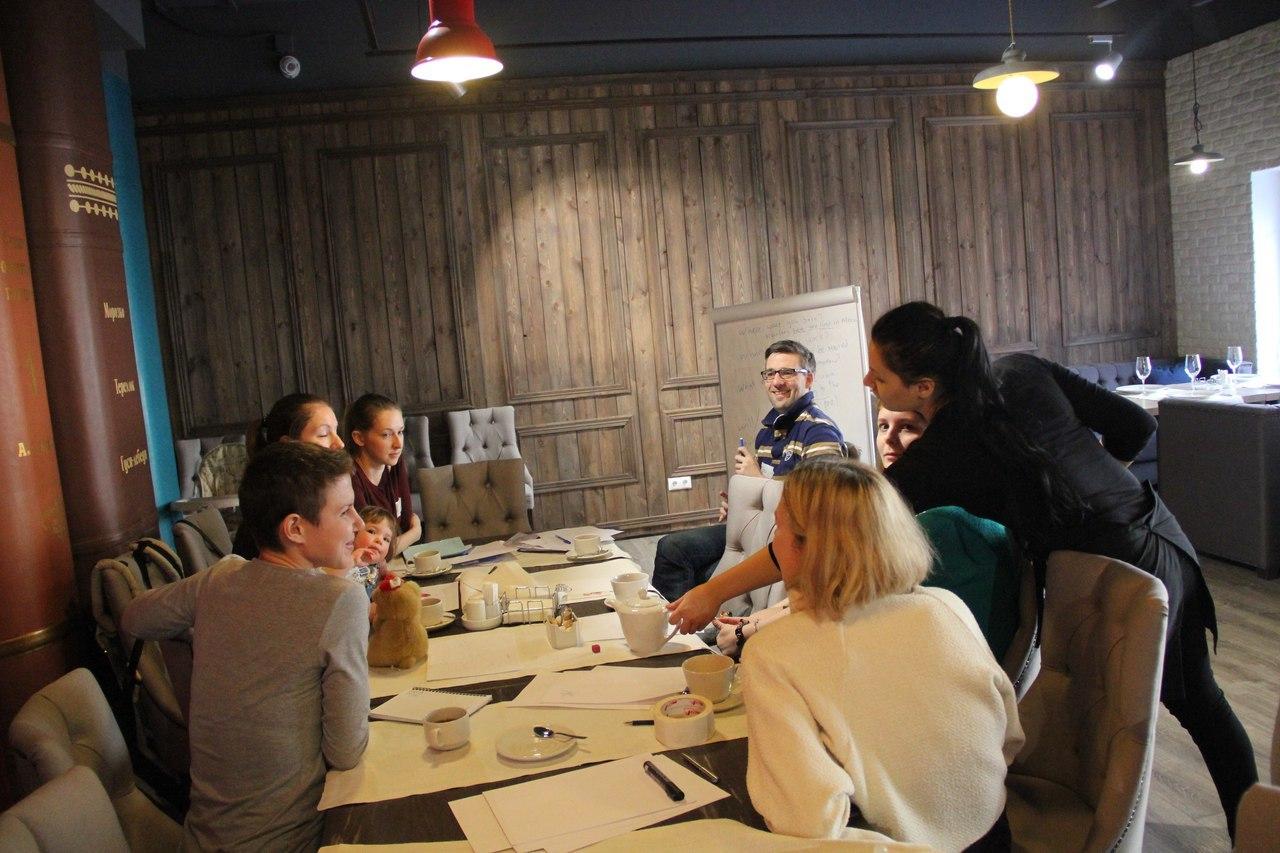 Mums' English: разговорный клуб для мам с малышами