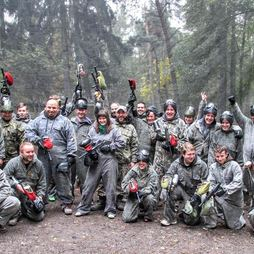 Paintball with English Bridge