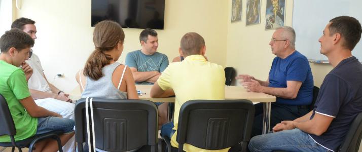 Разговорный клую в Одессе