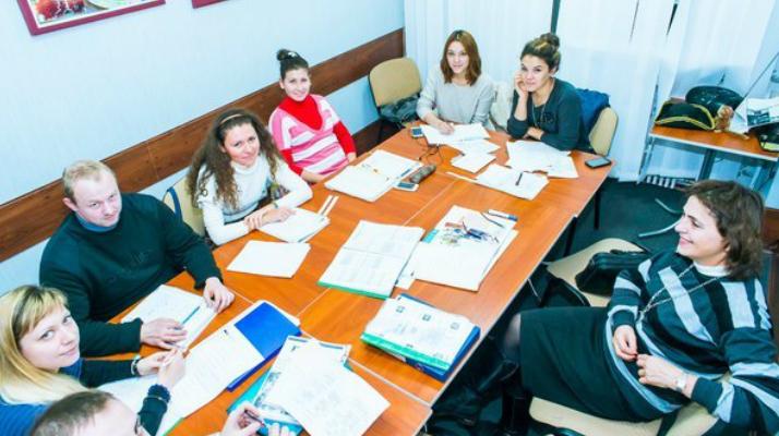 Занятия в школе Sun Rise в Харькове