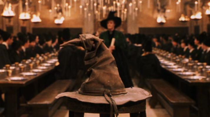Распределяющая Шляпа из Хогвартса
