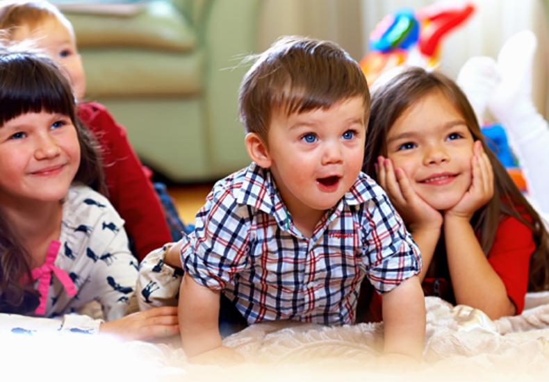 Занятия английским для малышей