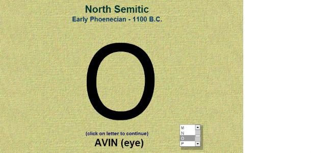Как формировался алфавит английского языка: буква О