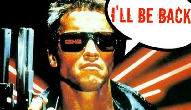 Лучшие цитаты из фильмов на английском: i'll be back